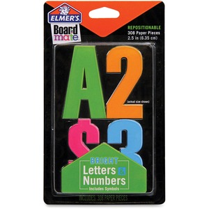 Elmer's Project Popperz Bright Letters & Numbers EPIE3068