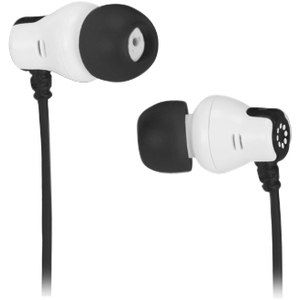 Memorex CB25 Comfort + Style Earbuds - Stereo - Black - Wired - Earbud - Binaural - In-ear