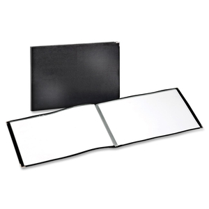 "11"" x 17"" Executive ShowFile, 24 Pockets, Black"