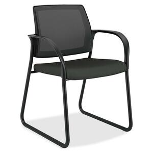 Mesh Back Sled Base Guest Chairs