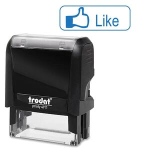 Like Thumb Up Self-Inking Expression Stamp