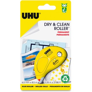 Dry & Clean Solvent Free Glue Roller Tape Adhesive