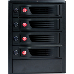 CRU RTX RTX410-XJ DAS Array - RAID Supported - 4 x Total Bays - Mini-SAS Tower