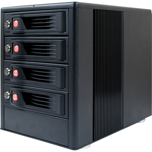 CRU RTX RTX410-XJ DAS Array - 12 TB Installed HDD Capacity - RAID Supported - 4 x Total Bays - Mini-SAS Tower