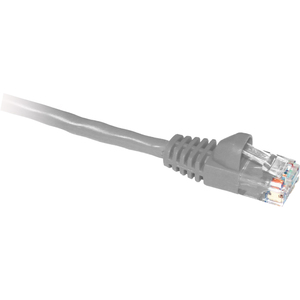 ClearLinks 25FT Cat. 5E 350MHZ Light Grey Molded Snagless Patch Cable - Category 5E for Network Device - 25ft - 1 x RJ-45 Male Network - 1 x RJ-45 Male Network - Light Grey