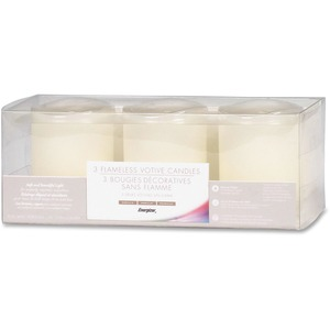Energizer Flameless Wax Candles EVEDVM3DL007