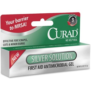 Medline Curad Silver Solution Antimicrobial Gel MIICUR45951N