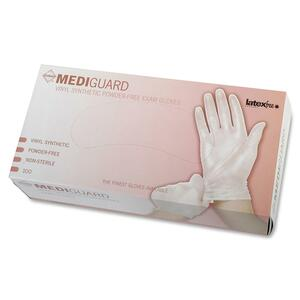 Medline MediGuard Pwdr-free Exam Gloves MIIMSV401R
