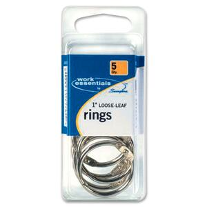 "Swingline Work Essentials 1"" Loose-leaf Rings SWI71764"