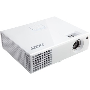 Acer H6510BD 3D Ready DLP Projector - HDTV - 16:9 - F/2.59 - 2.87 - NTSC, PAL, SECAM - 1920 x 1080 - Full HD - 10,000:1 - 3000 lm - HDMI - USB - VGA In - 290 W