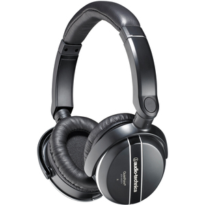 Audio-Technica ATH-ANC27x QuietPoint Active Noise-Cancelling Headphones - Stereo - Sub-mini phone - Wired - 33 Ohm - 20 Hz 20 kHz - Over-the-head - Binaural - Circumaural - 3.94 ft Cable
