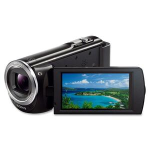 "Sony Handycam HDR-CX380/B Digital Camcorder - 3"" - Touchscreen LCD - Exmor R CMOS - Full HD - Black SONHDRCX380B"