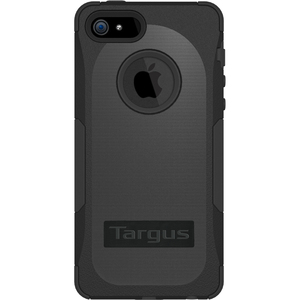 Targus SafePORT Case Rugged for iPhone 5 - Black - iPhone - Black - Polycarbonate, Plastic, Silicone