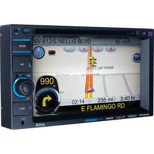Boss BV9380NV Automobile Audio/Video GPS Navigation System
