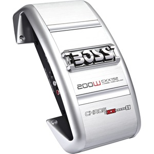 Boss Chaos Exxtreme II CXX152 Car Amplifier - 200 W PMPO - 2 Channel - Class AB - MOSFET Power Supply - 2 x 50 W @ 4 Ohm
