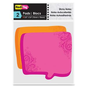 Redi-Tag Thought Bubble Sticky Notes RTG22100