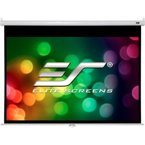 "Elite Screens SRM M100XWH2-SRM Projection Screen - Manual - 49"" x 87"" - MaxWhite - 100"" Diagonal - 16:9 - Ceiling Mount, Wall Mount"