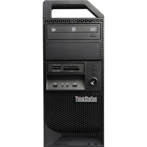 Lenovo ThinkStation 2555EJU Tower Workstation - 1 x Intel Xeon 3.30 GHz - 4 GB RAM - 500 GB HDD - NVIDIA Quadro K600 1 GB Graphics - Genuine Windows 7 Professional 64-bit