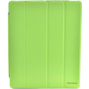 Gear Head FS4100GRN Carrying Case (Portfolio) for iPad - Green