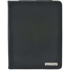 Gear Head Slim FS4200BLK Carrying Case (Portfolio) for iPad - Black Honeycomb - Abrasion Resistant