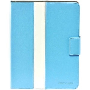 Gear Head Executive FS4300BLU Carrying Case (Portfolio) for iPad - Blue - Leather