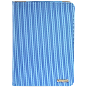 Gear Head Slim FS3200BLU Carrying Case (Portfolio) for iPad mini - Blue Honeycomb