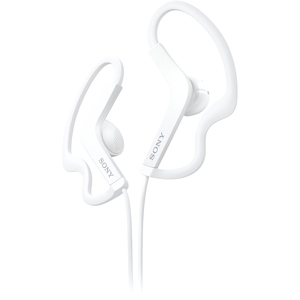 Sony Stereo Headphones; White - Stereo - White - Mini-phone - Wired - 16 Ohm - 17 Hz 22 kHz - Gold Plated - Over-the-ear - Binaural - Outer-ear - 3.94 ft Cable