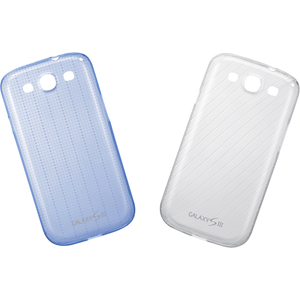Samsung Galaxy S III Ultra Slim Cover - 2 Pack - Smartphone - White, Blue - Blue Dot Pattern, White Soft Breeze Pattern