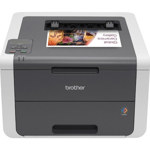 Brother HL-3140CW LED Printer | Color | 2400 x 600 dpi Print | Plain Paper Print | Desktop