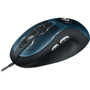 Logitech G400s Optical Gaming Mouse - Optical - Cable - USB - 4000 dpi - Scroll Wheel - 8 Button(s)