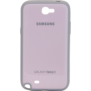 Samsung Protective Bumper Cover Plus Case for Galaxy Note 2 (Pink) - Smartphone - Pink - Plastic, Rubber