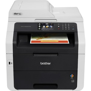 Brother MFC-9330CDW LED Multifunction Printer - Color - Plain Paper Print - Desktop - Printer, Copier, Scanner, Fax - 22 ppm Mono/22 ppm Color Print - 2400 x 600 dpi Print - 22 cpm Mono/22 cpm Color Copy - Touchscreen LCD - 1200 dpi Optical Scan - Automat