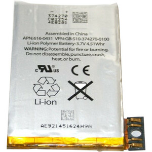 4XEM Cell Phone Battery - 1220 mAh - Lithium Ion (Li-Ion) - 3.7 V DC