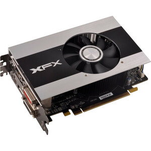 XFX Radeon HD 7790 Graphic Card - 1075 MHz Core - 1 GB DDR5 SDRAM - PCI Express 3.0 x16 - 6400 MHz Memory Clock - 4096 x 2160 - CrossFire - Fan Cooler - DirectX 11.1, OpenGL 4.2, OpenCL 1.2, DirectCompute 11 - HDMI - DisplayPort - DVI