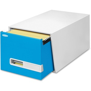 "Bankers Box Stor/Drawer Premier - 24"" Letter, Blue FEL3794001"