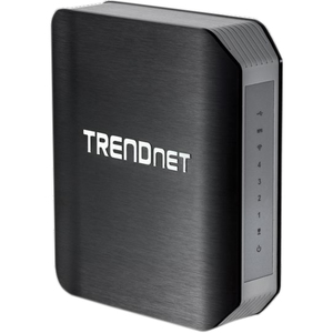 TRENDnet TEW-811DRU Wireless Router - IEEE 802.11ac - ISM Band - UNII Band - 1200 Mbps Wireless Speed - 4 x Network Port - USB Desktop