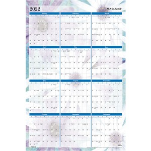 At-A-Glance Dreams Erasable Wall Calendar AAGPM83550