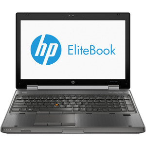 "HP EliteBook 8570w 15.6"" LED Notebook - Intel - Core i7 i7-3740QM 2.7GHz - Gunmetal E1Z06UT#ABA"