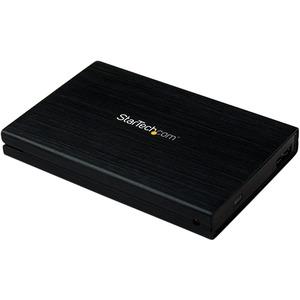 StarTech.com 2.5in Aluminum USB 3.0 External SATA III Hard SSD Drive Enclosure with UASP | Portable External HDD