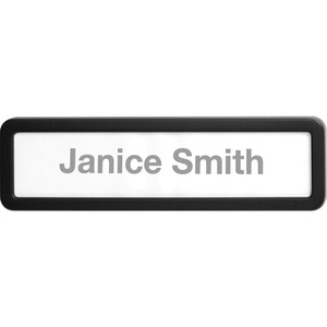 Recycled Plastic Cubicle Nameplate