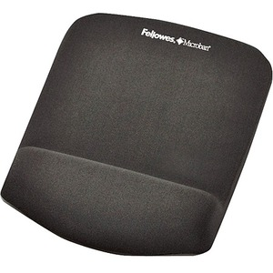 FELLOWES PLUSH TOUCH GRAPHITE MOUSE PAD/
