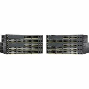 CISCO CATALYST 2960-X 24 GIGE 2X1G SFP LAN LIT SWITCH