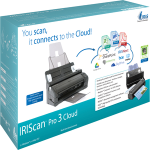 IRIS - GMP IRISCAN PRO3 CLOUD MULTI FUNCTIONAL SHEET FEED SCANNER