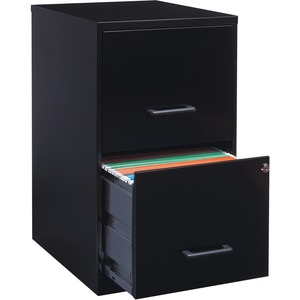 "Lorell SOHO 18"" 2-Drawer File Cabinet LLR14341"