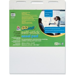 GoWrite! Self-Stick Easel Pad PACSP2023