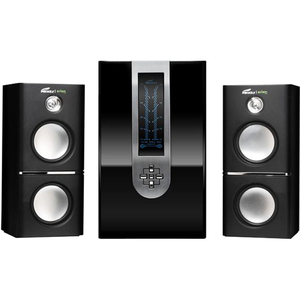Eagle Arion ET-AR510LR-BK 2.1 Soundstage Speakers W/SUBWOOFER & Remote 5.25