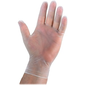 Genuine Joe Powdered Vinyl General Purpose Gloves GJO15387