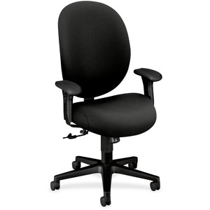 HON Executive High-Back Chairs w/ Seat Glides HON7602CU10T