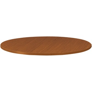HON Burbon Cherry Round Laminate Table Top HONTLD36GHNH