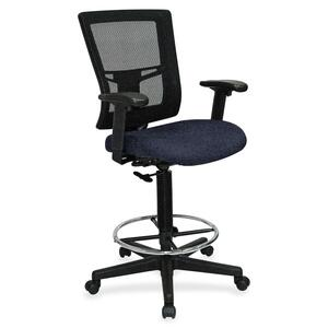 Lorell Breathable Mesh Drafting Stool LLR4310010